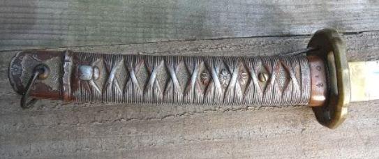 Pedang PETA jepang PD II relik