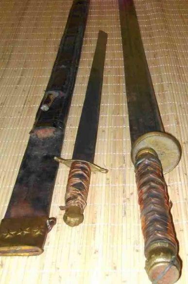 samurai sabuk asli